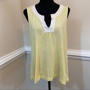 GUC Lilly Pulitzer Embroidered Tank Top Size M